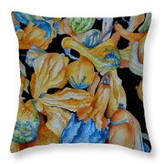 Gourds Galore Throw Pillow