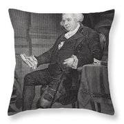Gouverneur Morris 1752-1816. American Throw Pillow