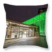 Goverment Center Boston Ma Throw Pillow