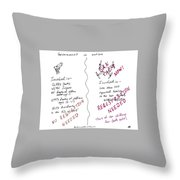 Government Inaction Throw Pillow