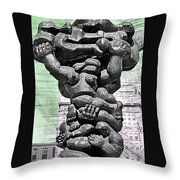 Government Of The People Throw Pillow