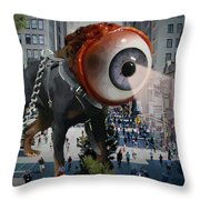 Government Unleashed Throw Pillow