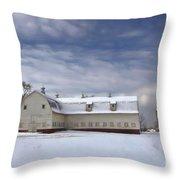 Governor Kerr Scott Farm Throw Pillow