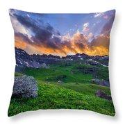 Governor's Basin Sunset Throw Pillow