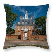 Governor's Palace Throw Pillow