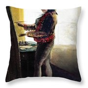 Goya: Self-portrait Throw Pillow