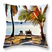 Grabbers View Throw Pillow