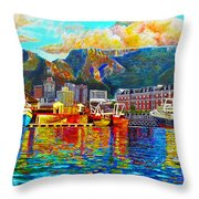 Grace At The Table Throw Pillow