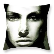 Grace Fights Back Throw Pillow