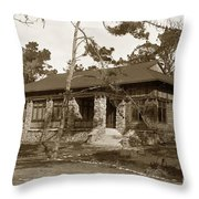Grace H Dodge Chapel Auditorium Asilomar Circa 1925 Throw Pillow