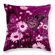 Grace In Pink Throw Pillow
