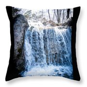 Grace Is A Waterfall Throw Pillow