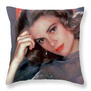 Grace Kelly Throw Pillow