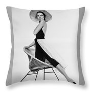 Grace Kelly Need I Say More Throw Pillow