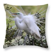 Grace In Nature II Throw Pillow