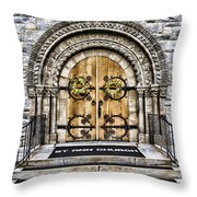 Grace - St Ann Church Throw Pillow