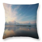 Graceful Disappointment Throw Pillow
