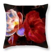 Graceful Glow Throw Pillow