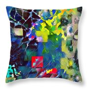 Graceful II Throw Pillow