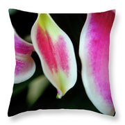 Graceful Lily Series 30 Throw Pillow