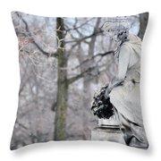 Graceland Cemetery Throw Pillow