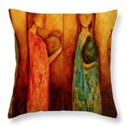 Graces 1 And 2 Throw Pillow