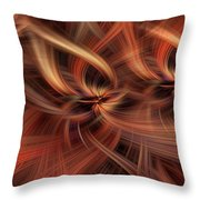 Graciousness. Mystery Of Colors Throw Pillow