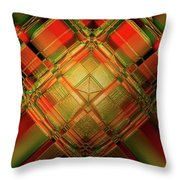 Gradient Play Throw Pillow