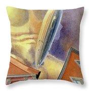 Graf Zeppelin Throw Pillow