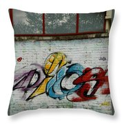 Graffiti 1 Throw Pillow