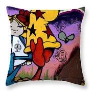 Graffiti 11 Throw Pillow