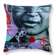 Graffiti 18 Throw Pillow