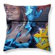Graffiti 19 Throw Pillow