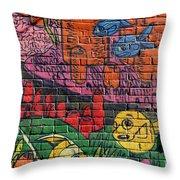 Graffiti 20 Throw Pillow