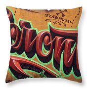 Graffiti 22 Throw Pillow