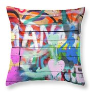 Graffiti 4 Throw Pillow