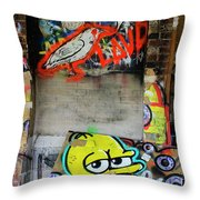 Graffiti 5 Throw Pillow