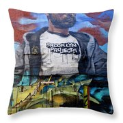 Graffiti 6 Throw Pillow