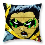 Graffiti 7 Throw Pillow