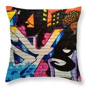 Graffiti 9 Throw Pillow