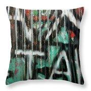 Graffiti Abstract 1 Throw Pillow