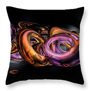 Graffiti Abstract Throw Pillow