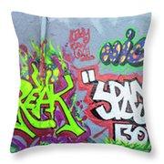 Graffiti Art 05102017a Throw Pillow