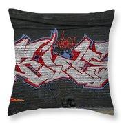 Graffiti Art Nyc 26 Throw Pillow