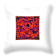 Graffiti Mashup 697 1 Throw Pillow