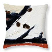 Graffiti Texture I Throw Pillow by Ray Laskowitz - Printscapes
