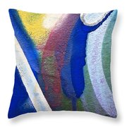 Graffiti Texture V Throw Pillow