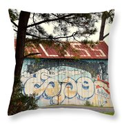 Grafitti One Throw Pillow