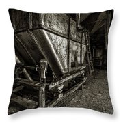 Grain Bin Throw Pillow