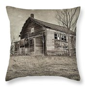 Grain Weigh Depot Throw Pillow